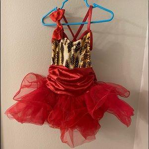 Toddler size 2-3 recital costume